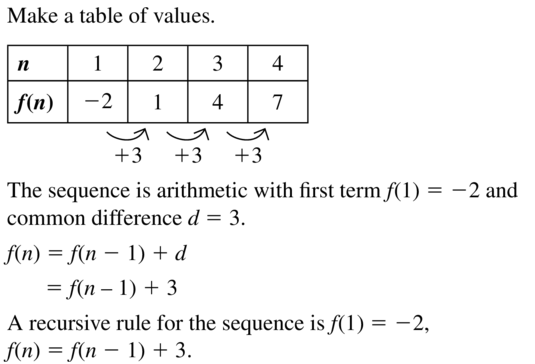Big Ideas Math Answers Algebra 2 Chapter 8 Sequences and Series 8.5 a 25