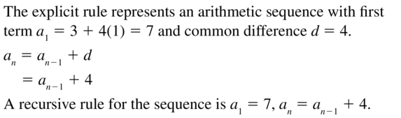 Big Ideas Math Answers Algebra 2 Chapter 8 Sequences and Series 8.5 a 29