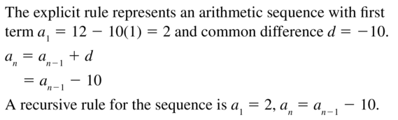 Big Ideas Math Answers Algebra 2 Chapter 8 Sequences and Series 8.5 a 31