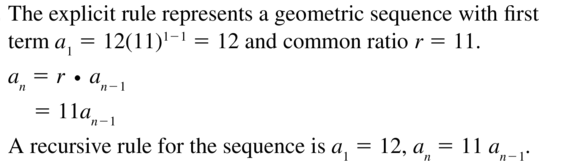 Big Ideas Math Answers Algebra 2 Chapter 8 Sequences and Series 8.5 a 33