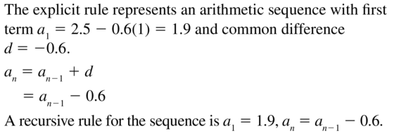 Big Ideas Math Answers Algebra 2 Chapter 8 Sequences and Series 8.5 a 35