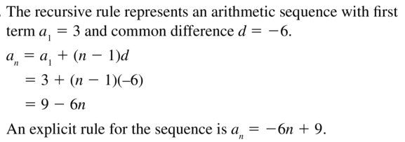Big Ideas Math Answers Algebra 2 Chapter 8 Sequences and Series 8.5 a 41