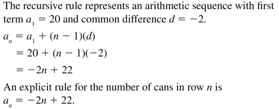 Big Ideas Math Answers Algebra 2 Chapter 8 Sequences and Series 8.5 a 49