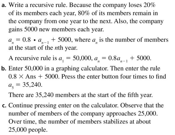 Big Ideas Math Answers Algebra 2 Chapter 8 Sequences and Series 8.5 a 53