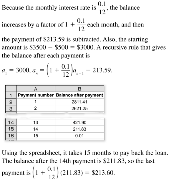 Big Ideas Math Answers Algebra 2 Chapter 8 Sequences and Series 8.5 a 65