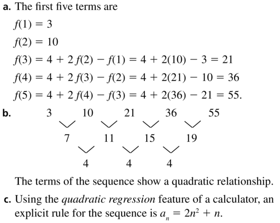 Big Ideas Math Answers Algebra 2 Chapter 8 Sequences and Series 8.5 a 67