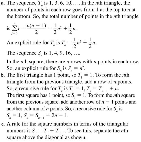 Big Ideas Math Answers Algebra 2 Chapter 8 Sequences and Series 8.5 a 69.1