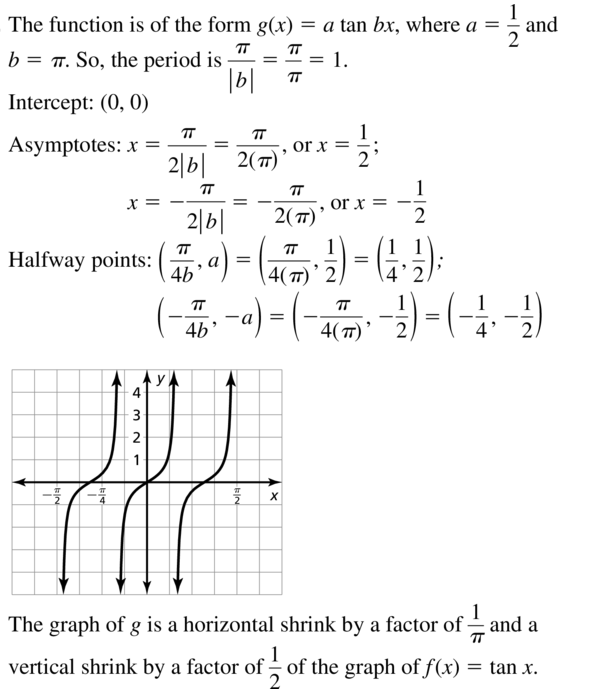 Big Ideas Math Answers Algebra 2 Chapter 9 Trigonometric Ratios and Functions 9.5 a 11