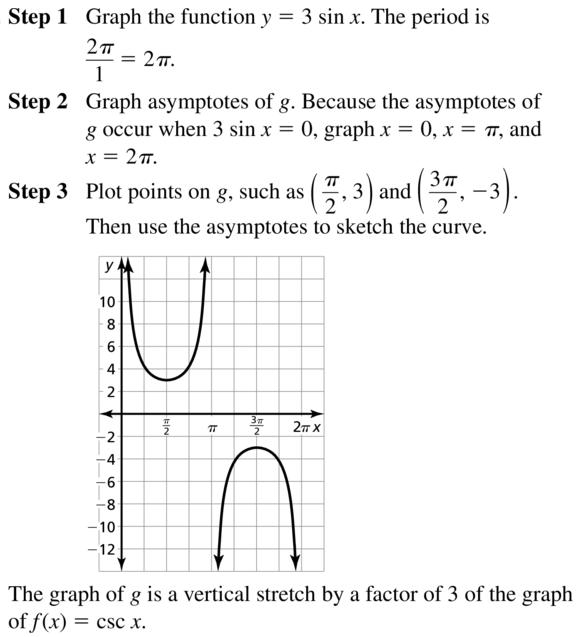 Big Ideas Math Answers Algebra 2 Chapter 9 Trigonometric Ratios and Functions 9.5 a 17