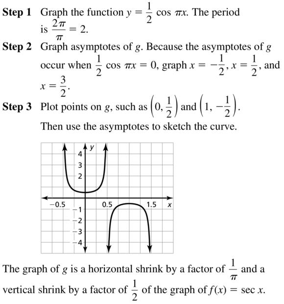 Big Ideas Math Answers Algebra 2 Chapter 9 Trigonometric Ratios and Functions 9.5 a 21