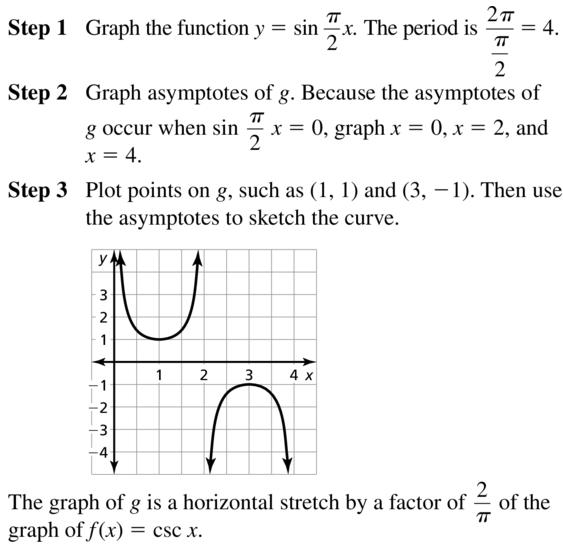 Big Ideas Math Answers Algebra 2 Chapter 9 Trigonometric Ratios and Functions 9.5 a 23