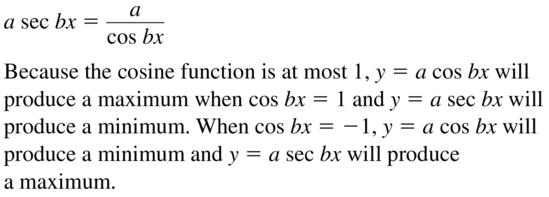 Big Ideas Math Answers Algebra 2 Chapter 9 Trigonometric Ratios and Functions 9.5 a 49