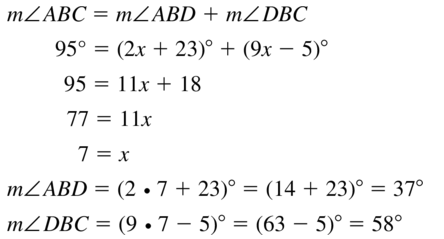 Big Ideas Math Answers Geometry Chapter 1 Basics of Geometry 1.5 a 25