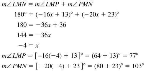 Big Ideas Math Answers Geometry Chapter 1 Basics of Geometry 1.5 a 27
