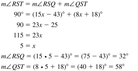 Big Ideas Math Answers Geometry Chapter 1 Basics of Geometry 1.5 a 29