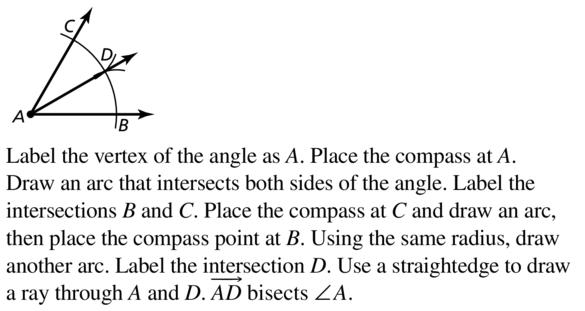 Big Ideas Math Answers Geometry Chapter 1 Basics of Geometry 1.5 a 31
