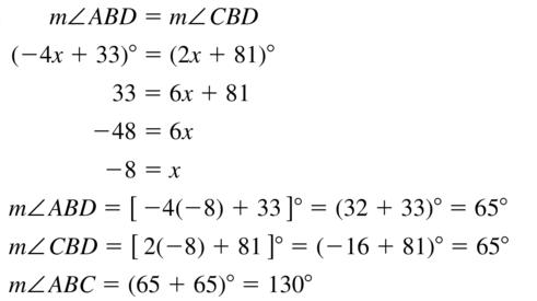 Big Ideas Math Answers Geometry Chapter 1 Basics of Geometry 1.5 a 39