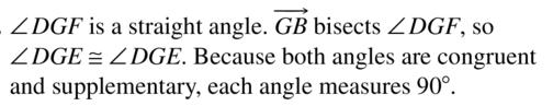 Big Ideas Math Answers Geometry Chapter 1 Basics of Geometry 1.5 a 45