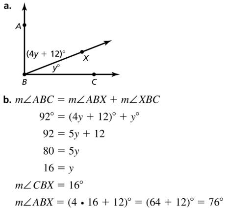 Big Ideas Math Answers Geometry Chapter 1 Basics of Geometry 1.5 a 47