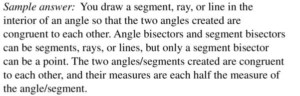 Big Ideas Math Answers Geometry Chapter 1 Basics of Geometry 1.5 a 55