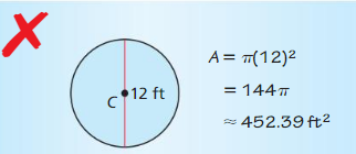 Big Ideas Math Answers Geometry Chapter 11 Circumference, Area, and Volume 48