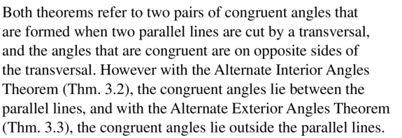 Big Ideas Math Answers Geometry Chapter 3 Parallel and Perpendicular Lines 3.2 a 1