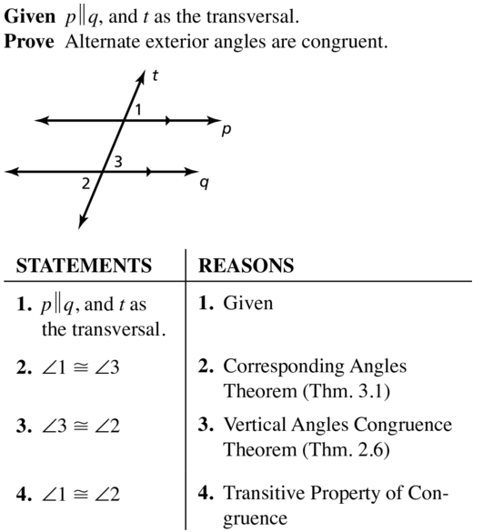 Big Ideas Math Answers Geometry Chapter 3 Parallel and Perpendicular Lines 3.2 a 15