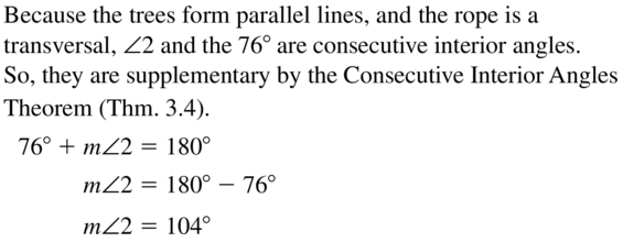 Big Ideas Math Answers Geometry Chapter 3 Parallel and Perpendicular Lines 3.2 a 17