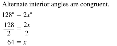 Big Ideas Math Answers Geometry Chapter 3 Parallel and Perpendicular Lines 3.2 a 7