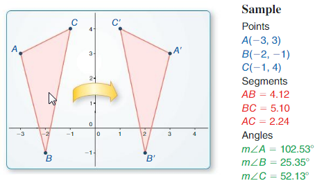 Big Ideas Math Answers Geometry Chapter 4 Transformations 29