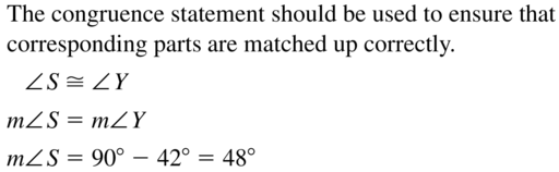 Big Ideas Math Answers Geometry Chapter 5 Congruent Triangles 5.2 a 17