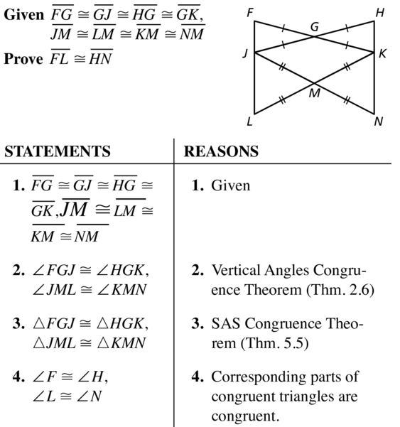 Big Ideas Math Answers Geometry Chapter 5 Congruent Triangles 5.7 a 15.1