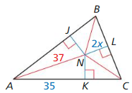 Big Ideas Math Answers Geometry Chapter 6 Relationships Within Triangles 61