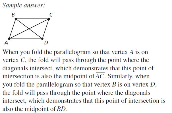 Big Ideas Math Answers Geometry Chapter 7 Quadrilaterals and Other Polygons 7.2 a 35