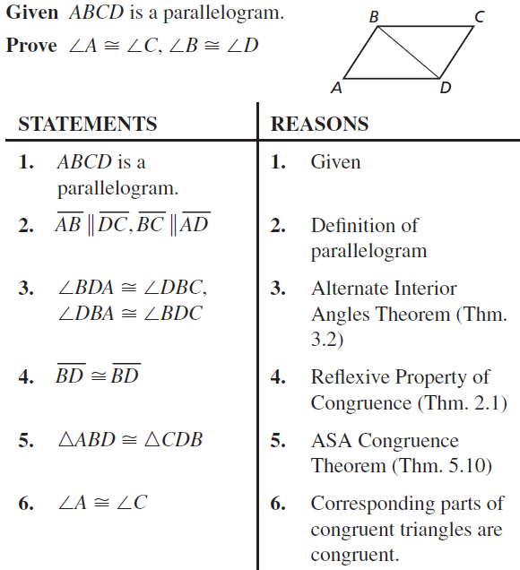 Big Ideas Math Answers Geometry Chapter 7 Quadrilaterals and Other Polygons 7.2 a 37.1