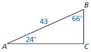Big Ideas Math Answers Geometry Chapter 9 Right Triangles and Trigonometry 218