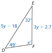 Big Ideas Math Answers Geometry Chapter 9 Right Triangles and Trigonometry 234
