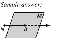 Big Ideas Math Geometry Answer Key Chapter 1 Basics of Geometry 1.1 a 21