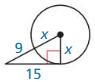 Big Ideas Math Geometry Answer Key Chapter 10 Circles 115