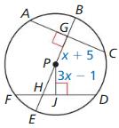Big Ideas Math Geometry Answer Key Chapter 10 Circles 121