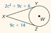 Big Ideas Math Geometry Answer Key Chapter 10 Circles 255