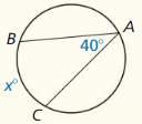 Big Ideas Math Geometry Answer Key Chapter 10 Circles 264