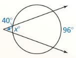 Big Ideas Math Geometry Answer Key Chapter 10 Circles 272