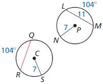 Big Ideas Math Geometry Answer Key Chapter 10 Circles 90