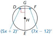 Big Ideas Math Geometry Answer Key Chapter 10 Circles 94