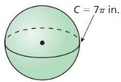 Big Ideas Math Geometry Answer Key Chapter 11 Circumference, Area, and Volume 280