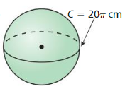 Big Ideas Math Geometry Answer Key Chapter 11 Circumference, Area, and Volume 282