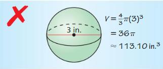 Big Ideas Math Geometry Answer Key Chapter 11 Circumference, Area, and Volume 283