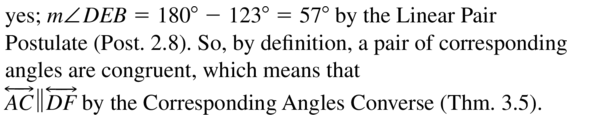 Big Ideas Math Geometry Answer Key Chapter 3 Parallel and Perpendicular Lines 3.3 a 21