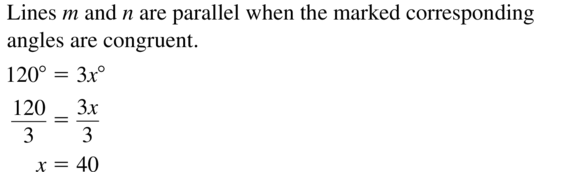 Big Ideas Math Geometry Answer Key Chapter 3 Parallel and Perpendicular Lines 3.3 a 3